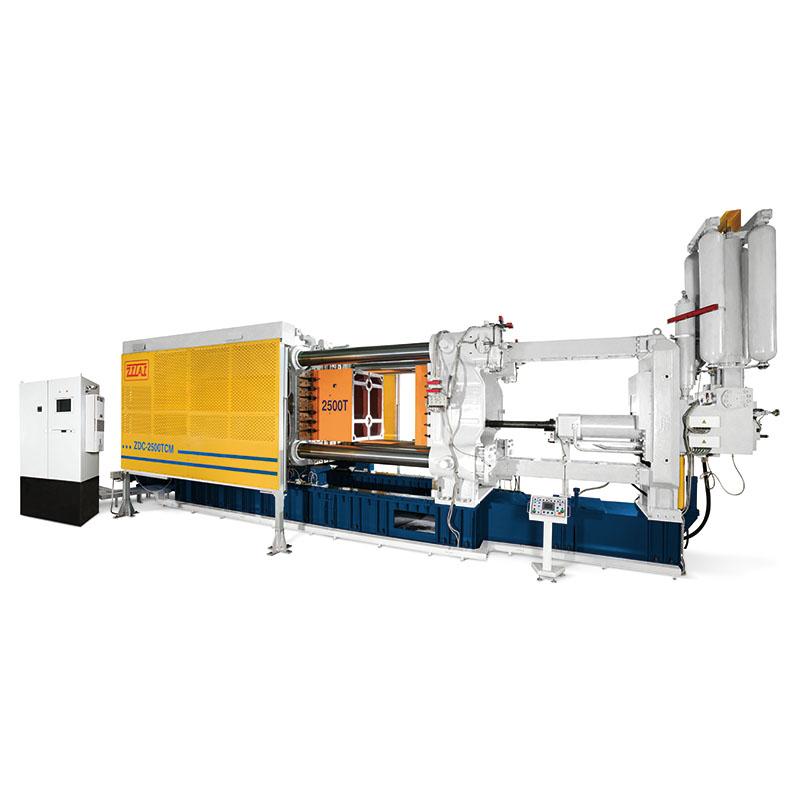 aluminum casting machine, cold chamber die casting machine, high pressure die casting machine, HPDC, die casting machine Taiwan, die casting